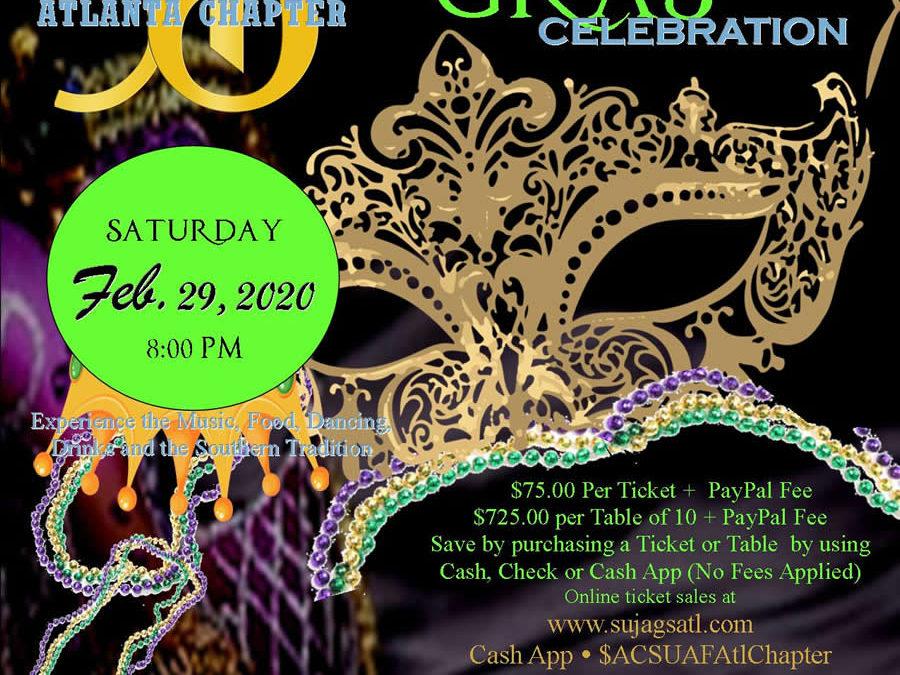 2020 Mardi Gras Gala Celebration
